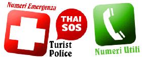 numeri utili in Thailandia