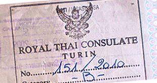 Permesso di lavoro Thailandia