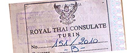 IL permesso di lavoro per lavorare in Thailandia